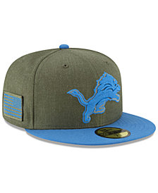 New Era Detroit Lions Salute To Service 59FIFTY FITTED Cap