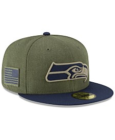 New Era Seattle Seahawks Salute To Service 59FIFTY FITTED Cap