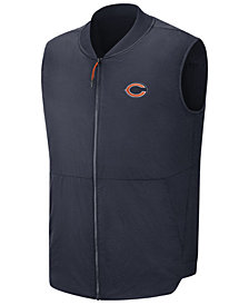 Nike Men's Chicago Bears Sideline Coaches Vest