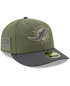 New Era Miami Dolphins Salute To Service Low Profile 59FIFTY Fitted Cap 2018