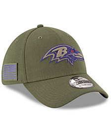 New Era Baltimore Ravens Salute To Service 39THIRTY Cap