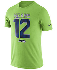 Nike Men's Seattle Seahawks Dri-Fit Cotton Local T-Shirt