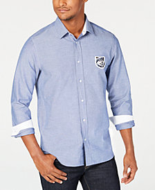 HUGO Men's Patch Logo Shirt