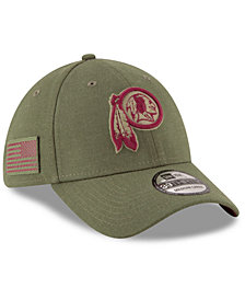 New Era Washington Redskins Salute To Service 39THIRTY Cap