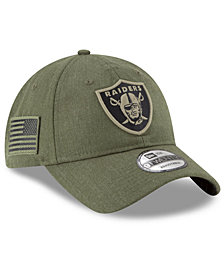 New Era Oakland Raiders Salute To Service 9TWENTY Cap