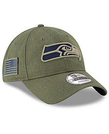 New Era Seattle Seahawks Salute To Service 9TWENTY Cap