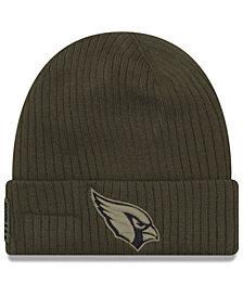 New Era Arizona Cardinals Salute To Service Cuff Knit Hat