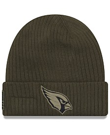 New Era Arizona Cardinals Salute To Service Cuff Knit Hat