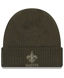 New Era New Orleans Saints Salute To Service Cuff Knit Hat