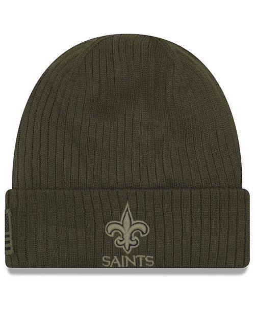 8ea8e9475 New Orleans Saints Salute To Service Cuff Knit Hat. Be the first to Write a  Review. $30.00