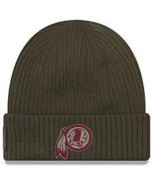 New Era Washington Redskins Salute To Service Cuff Knit Hat