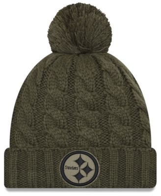 on sale 3489f a08be Finders | Women's Pittsburgh Steelers Salute To Service Pom ...
