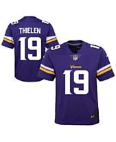 7bb98731 Nike Adam Thielen Minnesota Vikings Color Rush Jersey, Big Boys (8-20)