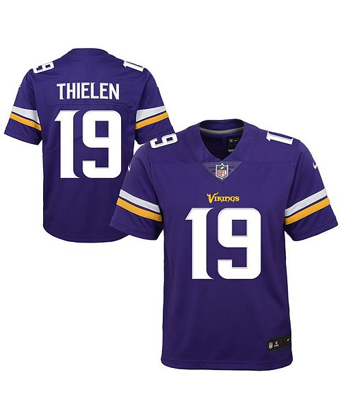 Nike. Adam Thielen Minnesota Vikings Color Rush Jersey ab58423c2