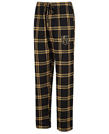 Concepts Sport Men's Vegas Golden Knights Homestretch Flannel Pajama Pants