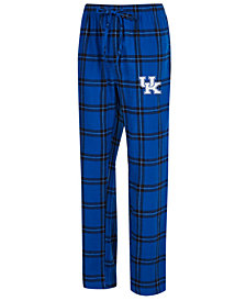Concepts Sport Men's Kentucky Wildcats Homestretch Flannel Pajama Pants
