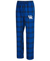 Concepts Sport Men s Kentucky Wildcats Homestretch Flannel Pajama Pants 82dc3d688