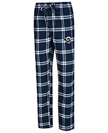 Concepts Sport Men's Los Angeles Rams Homestretch Flannel Sleep Pants