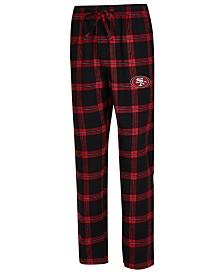 Concepts Sport Men's San Francisco 49ers Homestretch Flannel Sleep Pants