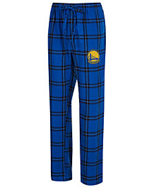 Concepts Sport Men's Golden State Warriors Homestretch Flannel Sleep Pants