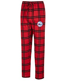 Men's Philadelphia 76ers Homestretch Flannel Sleep Pants