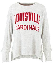 Pressbox Women's Louisville Cardinals Cuddle Knit Sweatshirt