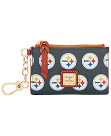 Dooney & Bourke Pittsburgh Steelers Zip Top Card Case