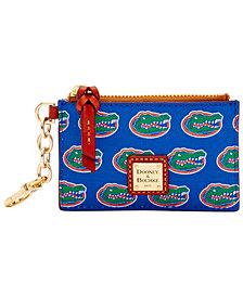Dooney & Bourke Florida Gators Zip Top Card Case