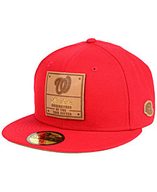 New Era Washington Nationals Vintage Team Color 59FIFTY FITTED Cap