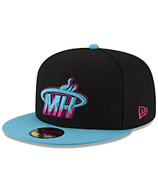 New Era Miami Heat Dark City Combo 59FIFTY FITTED Cap