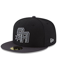 New Era San Antonio Spurs Dark City Combo 59FIFTY FITTED Cap