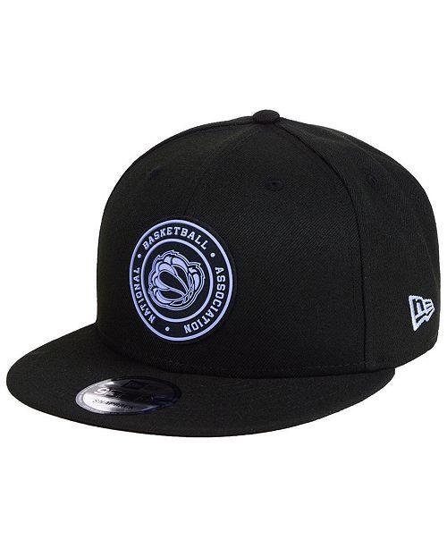 buy popular fa79d 1f5e8 ... New Era Memphis Grizzlies Circular 9FIFTY Snapback Cap ...