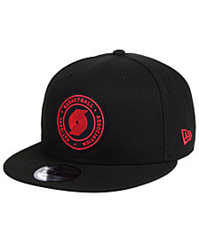 New Era Portland Trail Blazers Circular 9FIFTY Snapback Cap
