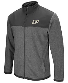 Colosseum Men's Purdue Boilermakers Full-Zip Fleece Jacket