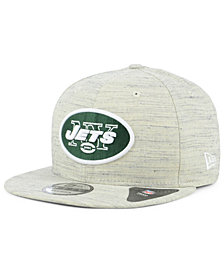 New Era New York Jets Luxe Gray 9FIFTY Snapback Cap