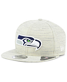 New Era Seattle Seahawks Luxe Gray 9FIFTY Snapback Cap