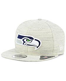 New Era Seattle Seahawks Luxe Gray 9FIFTY Snapback Cap