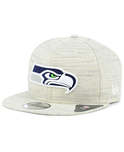 size 40 8fbc8 d4fa9 ... New Era Seattle Seahawks Luxe Gray 9FIFTY Snapback Cap ...