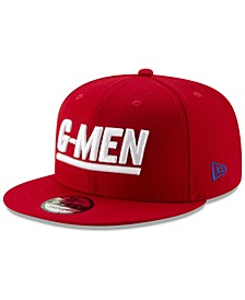 New York Giants Logo Elements Collection 9FIFTY Snapback Cap