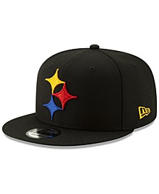 Pittsburgh Steelers Logo Elements Collection 9FIFTY Snapback Cap