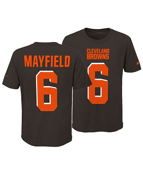 new styles ad147 bafd4 Baker Mayfield Cleveland Browns Pride Name and Number 3.0 T-Shirt, Big Boys  (8-20)
