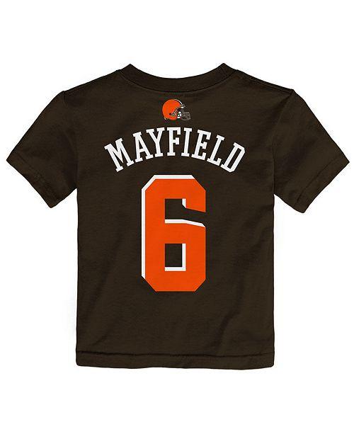 Outerstuff Baker Mayfield Cleveland Browns Mainliner Player T-Shirt ... d8a007d47