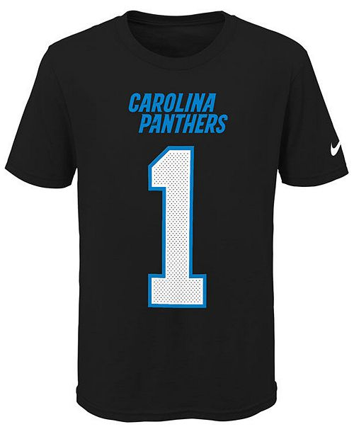 a167345bbe4 Nike Cam Newton Carolina Panthers Pride Name and Number 3.0 T-Shirt, Big  Boys ...