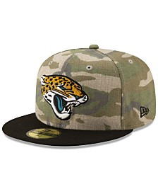 New Era Jacksonville Jaguars Vintage Camo 59FIFTY FITTED Cap