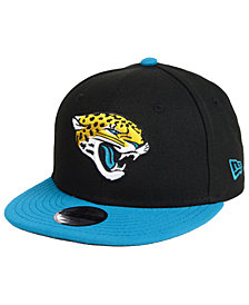 New Era Boys' Jacksonville Jaguars Two Tone 9FIFTY Snapback Cap