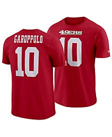 Men's Jimmy Garoppolo San Francisco 49ers Pride Name and Number Wordmark T-Shirt