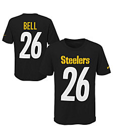 Nike Le'Veon Bell Pittsburgh Steelers Pride Name and Number 3.0 T-Shirt, Big Boys (8-20)