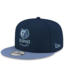 New Era Memphis Grizzlies Basic 2 Tone 9FIFTY Snapback Cap