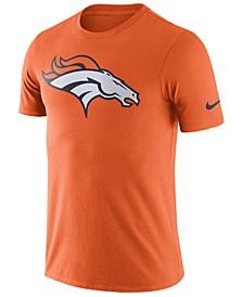 Men's Denver Broncos Dri-Fit Cotton Essential Logo T-Shirt