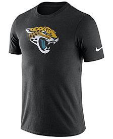 Nike Men's Jacksonville Jaguars Dri-Fit Cotton Essential Logo T-Shirt